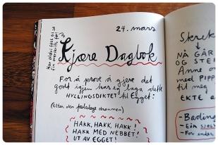 Kjære Dagbok